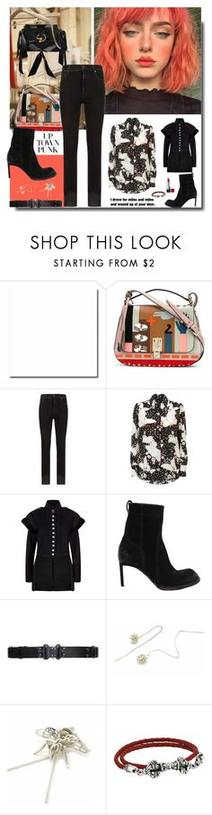 """""""I left the door open for you..."""" by sue-mes ❤ liked on Polyvore featuring Christian Dior, J.W. Anderson, Valentino, Citizens of Humanity, Burberry, Haider Ackermann, Alyx, Fou Jewellery and King Baby Studio"""