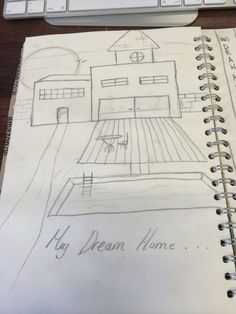 19 - dream house Book Drawing, My Arts, Sketch, Drawings, Artwork, Books, House, Sketches, Livros