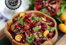 Yeşil Mercimek Salatası (Pancarlı)