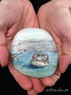 Antiparos Inspired Stone2 on Etsy by ArtRocks by Karen, via Flickr