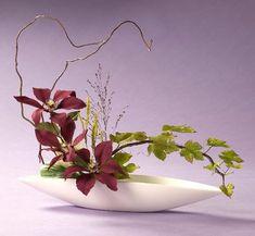 Ikebana with Clematis