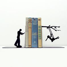 Sweet Swinging Bookends