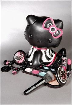 Hello Kitty Mac Vinyl Doll.