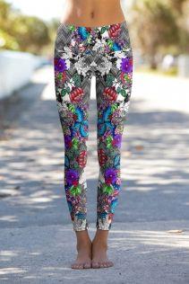 Alluring Bouquet - OmShanti Leggings, eco-friendly, jetzt neu bei www.mind-factor-shop.com