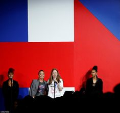 Chelsea Clinton was the special guest for the event, which was co-hosted by Anna…
