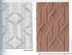 Delicadezas en crochet Gabriela: Bufanda de punto                                                                                                                                                      Más