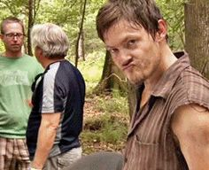 The Walking Dead behind the scenes