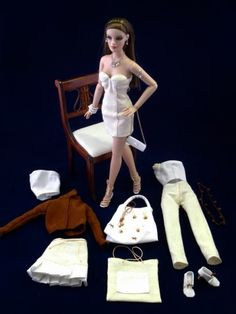 mold and pap Barbie doll clothes,