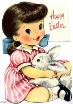 vintage Easter ~ so adorable !