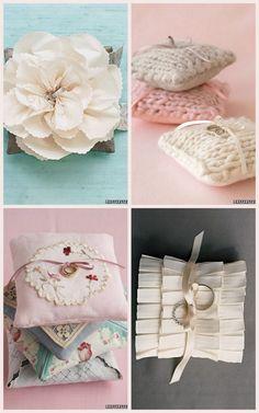 DIY ring pillows