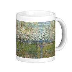 Pink Orchard by Vincent Van Gogh Coffee Mugs