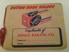 World War II  Very Rare  'Junge Baking Co'  by PompeyCollectibles, $50.00
