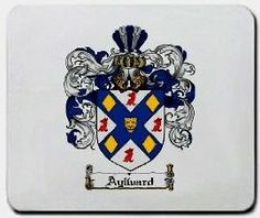 Aylward Family Shield / Coat of Arms Mouse Pad $11.99