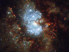 Hubble's Hidden Galaxy | #Astronomy