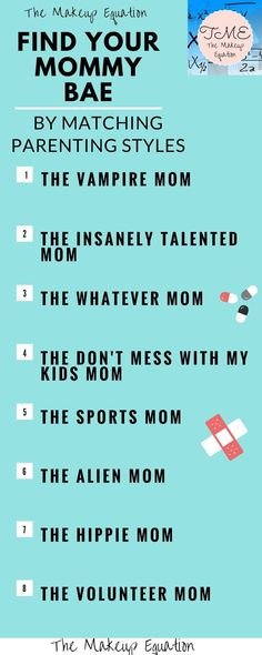 Find Your Mommy BAE By Matching Parenting Styles