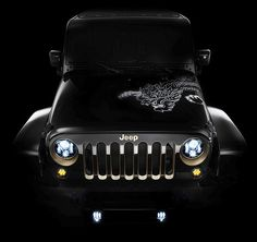 """Special """"Year of the Dragon"""" Jeep Wrangler"""