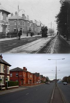 Aigburth Road and 2012 Liverpool City Centre, Liverpool Home, Then And Now Photos, Liverpool History, Time Pictures, Southport, Historical Pictures, Old Postcards, England