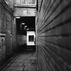 Dublin with Hasselblad. Hidden back lane in Temple Bar district. By Nina Matzat Photography