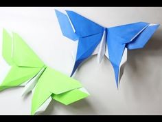 How to make an origami Butterfly (Michael LaFosse), My Crafts and DIY Projects