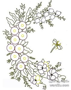 The Complete Guide to Silk Ribbon Embroidery: Basic Step-By-Step Techniques for Making Beautiful Designs for Wearables, Accessories, and Home Decor (Watson-Guptill Crafts) - Embroidery Design Guide Hand Embroidery Patterns Flowers, Silk Ribbon Embroidery, Hand Embroidery Designs, Embroidery Art, Embroidery Stitches, Butterfly Drawing, Brazilian Embroidery, Ribbon Art, Fabric Painting