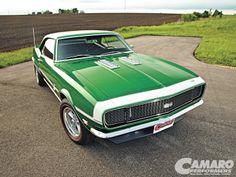 Best Camaros Of The Year - Green 1968 Camaro SS