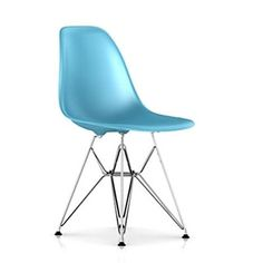 Herman Miller ® Eames DSR - Molded Plastic Side Chair with Wire Base | Wayfair $299