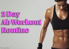 Anybody can benefit from working abs – it increases your strength, your quality…