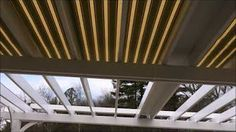 Pergola Uteplats Vit - Pergola Shade Canopy - Pergola Moderne Roof - - Backyard Pergola With Fireplace Retractable Pergola Canopy, Pergola Screens, Pergola Swing, Pergola Shade, Pergola Cover, Wisteria Pergola, Backyard Canopy, Garden Canopy, Canopy Outdoor
