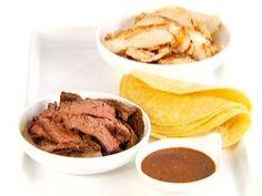Chicken and Steak Fajitas Recipe   Giada De Laurentiis   Food Network