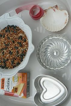Natural Kids: Darling Little Birdseed Cakes Tutorial