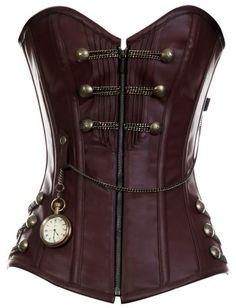 Steampunk Clothing waistcoat women   DevilInspired Steampunk Dresses: Steampunk Corset for Women