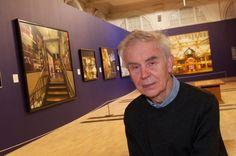 8/2- Happy Birthday, John Salt, English photo-realist painter, born 1937.