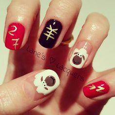 Chinese New Year Manicure
