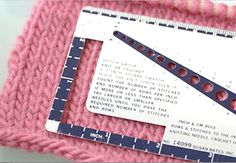 Understanding Knitting Gauge.  Crafts with Yarn - Creativebug