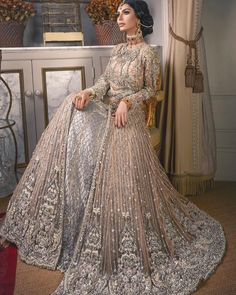 Eid Outfit Ideas Picture 41 fashionable muslim pakistani outfit for eid mubarak eid Eid Outfit Ideas. Here is Eid Outfit Ideas Picture for you. Eid Outfit Ideas elegant muslim outfit ideas for eid mubarak featured. Pakistani Wedding Outfits, Pakistani Bridal Dresses, Pakistani Wedding Dresses, Bridal Outfits, Indian Dresses, Indian Outfits, Gown Wedding, Wedding Wear, Walima Dress