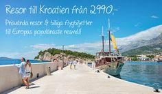 Resor till Kroatien från 2990:- Croatia