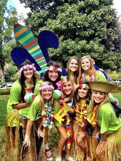 Kappa Kappa Gamma at University of Mississippi #KappaKappaGamma #KKG #Kappa #BidDay #FleurDeLis #sorority #OleMiss