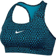 Nike Victory Dri-FIT Compression Mirror Mesh  Bra NO TRADES Versatile, everyday sports bra. This women's Nike Victory sports bra blends classic styling with a compressive fit that's ideal for any workout.  PRODUCT FEATURES Perfect for medium-impact exercise Dri-FIT moisture-wicking technology Strap stabilizers provide bounce control Racerback Scoopneck FABRIC & CARE Polyester, spandex Machine wash MEDIUM FITS 34A to 36DD Nike Intimates & Sleepwear Bras