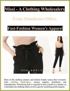 Missi A Clothing Wholesalers From Manchester Offers Fast-Fashion Women's Apparel