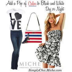 """""""Miche Petite Stars and Stripes"""" by miche-kat on Polyvore May 2014 Miche Petite Stars and Stripes #michebag #Interchangeablepurse  http://www.simplychicforyou.com/"""