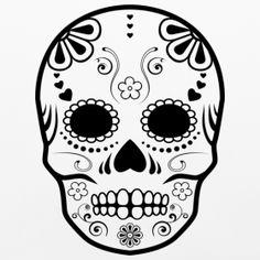 sugar skull cookie   sugar skull   asyrum design