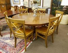 This Pottery Barn table and six chairs is only $499.