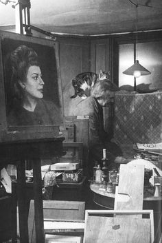 Photographic portrait of Austin Osman Spare