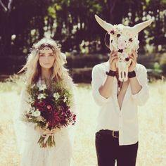 Boho Wedding Flowers, Boho Wedding Photography, Outdoor Wedding #BohoBride #BohoWedding