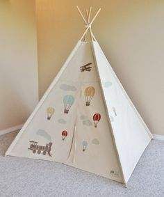 Hey, I found this really awesome Etsy listing at https://www.etsy.com/listing/162545540/hot-air-balloon-play-tent-teepee