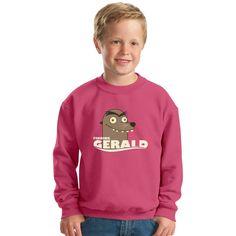 Finding Gerald Kids Sweatshirt