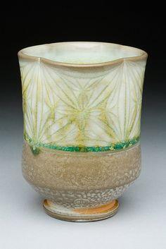 Soda fired porcelain by Adam Field