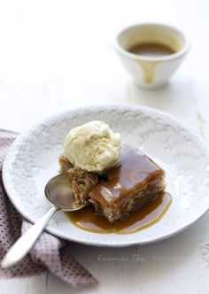 Stickly Toffee Pudding is a British classic dessert. It is a steamed dessert that is made of dates, served with glossy toffee sauce and sometimes accompanied with vanilla ice-cream or custard. The cake is really moist and the natural sweetness of dates makes it a very irresistible dessert.