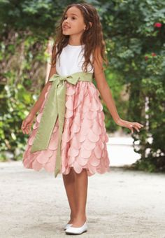 Chasing Fireflies: We always love perusing the Chasing Fireflies catalog (especially their Halloween issue), so it's no surprise that their flower girl dresses are simply darling.    For more of our favorite places to find #flowergirl dresses: http://explore.idojour.com/2013/03/07/10-places-to-find-flower-girl-dresses/#