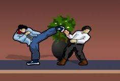 Lucha con este luchador en una interminable pelea de hombres combatientes. Camina y avanza luchando con todo aquel que se interponga en tu camino. Le darás puñetazos y patadas a los enemigos que se porten mal. Si te gustan los juegos antiguos como los de Freeroms GBA, seguro que te enviciaras a este juego de lucha.
